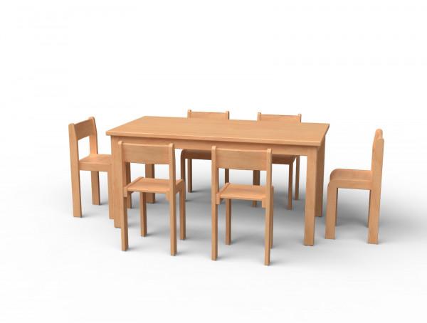 Stuhl & Tisch-Set Nr 1