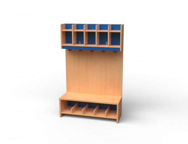 Garderoben-Set 5 Plätze
