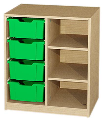 Materialcontainer 2-reihig