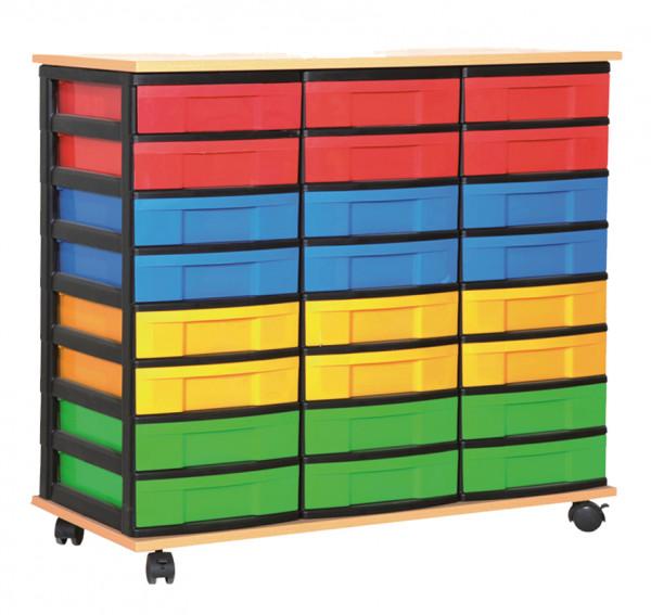 Materialcontainer 3-reihig LIGHT